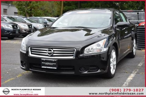 Certified Pre-Owned 2014 Nissan Maxima 4dr Sdn 3.5 S Front Wheel Drive Sedan