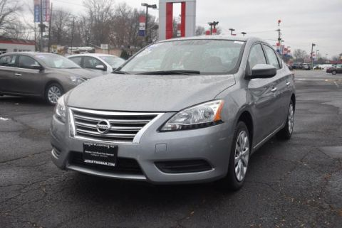 Certified Pre-Owned 2014 Nissan Sentra 4dr Sdn I4 CVT SV Front Wheel Drive Sedan