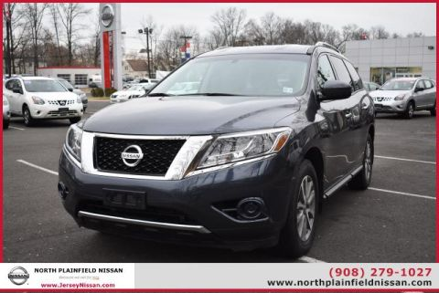 Certified Pre-Owned 2014 Nissan Pathfinder 4WD 4dr SV Four Wheel Drive SUV