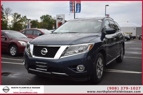 Certified Pre-Owned 2015 Nissan Pathfinder 4WD 4dr SV Four Wheel Drive SUV